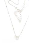 Sparkling Mini Heart - ezüst szív nyaklánc