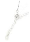 Sparkling Circle Mini - ezüst nyaklánc