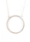 Circle-Ring - ezüst nyaklánc
