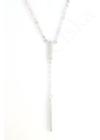 Crystal Bar - ezüst nyaklánc