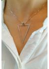 Delta In Delta - ezüst nyaklánc
