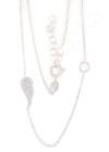 Wing & Circle - ezüst nyaklánc