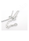 Long Chain Crystals - ezüst nyaklánc