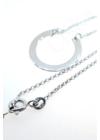 Incomplete - ezüst nyaklánc