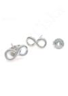 Infinity - ezüst fülbevaló
