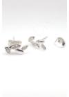 Liana - ezüst fülbevaló