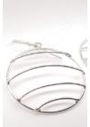 Horizont - ezüst fülbevaló