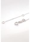 Haumea - karika ezüst nyaklánc