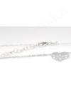 Lacy - szív ezüst nyaklánc