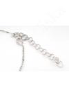 Wide Heart  - szív ezüst karkötő