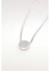 Dot - kör ezüst nyaklánc