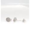 Dot - kör ezüst fülbevaló