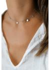 Illuminar - ezüst choker nyaklánc