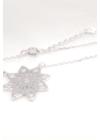 Flora - ezüst nyaklánc