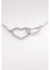 Hearts - szív medálos karkötő