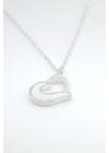 Ice Heart - szív medálos nyaklánc