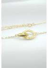 Goldy - arany színű ezüst nyaklánc