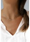 Cristall - köves ezüst nyaklánc
