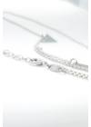 Double V - minimalista ezüst nyaklánc