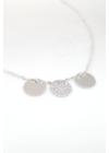 Trium - körlapos ezüst nyaklánc