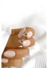 Delta - háromszög alakú ezüst fülbevaló