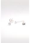 Grain XS - apró ezüst fülbevaló