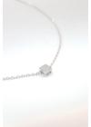 Zanzibár - négyzet medálos nyaklánc