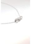 Cubes - kocka medálos ezüst nyaklánc