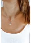 Wave - kör medálos ezüst nyaklánc