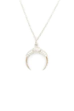 Sparkling Bullhorn - ezüst nyaklánc