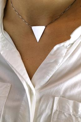Full Delta - ezüst nyaklánc