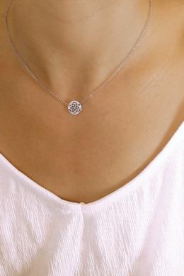 Mandala Flower - ezüst nyaklánc