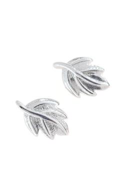 Leaf - ezüst fülbevaló