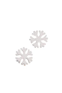 Snowflake - ezüst fülbevaló