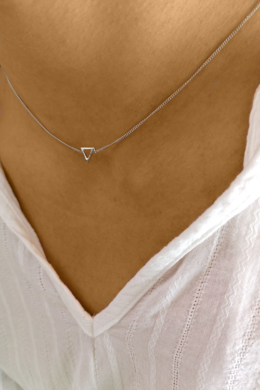 Mini Delta - ezüst nyaklánc