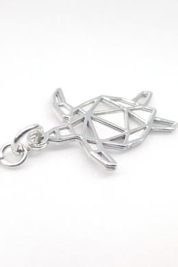 Origami Turtle - ezüst nyaklánc