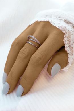 Elegant - ezüstgyűrű