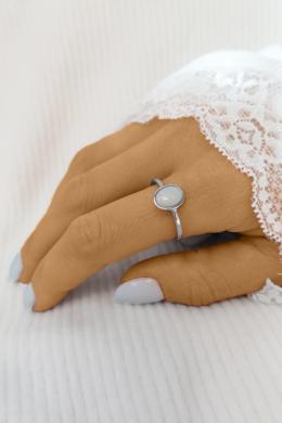 Angel skin - ezüstgyűrű