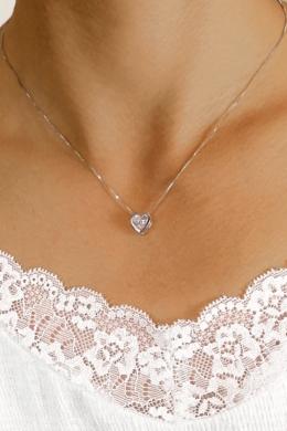 Dama - ezüst nyaklánc