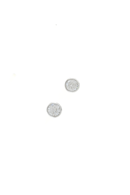 Sparkling Circle Medium - cirkónia köves fülbevaló