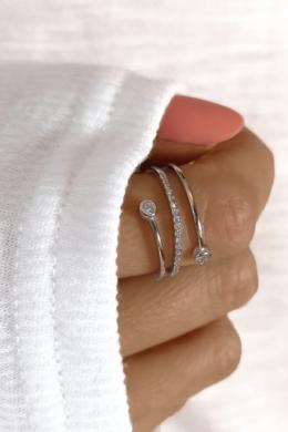 Spiral - spirál gyűrű