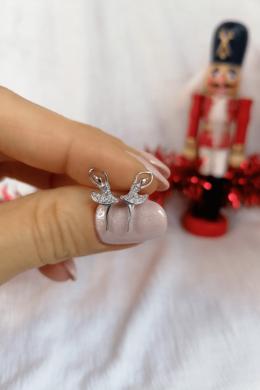Balerina  - ezüst fülbevaló