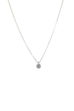 Diana - apró köves ezüst nyaklánc
