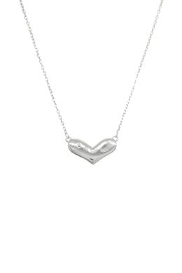 Maddie - szív medálos ezüst nyaklánc