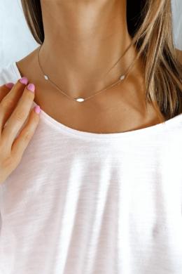 Felle - minimalista ezüst nyaklánc
