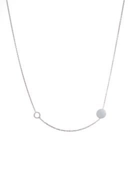 Dotty - minimalista ezüst nyaklánc