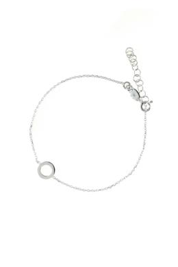 Haumea - karika ezüst karkötő