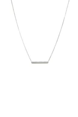 Silver Platty - lap medálos nyaklánc