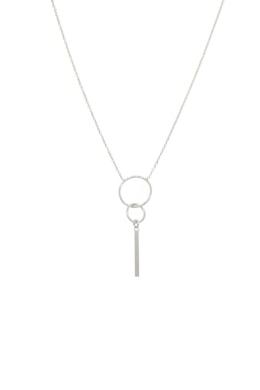 Bar - minimalista ezüst nyaklánc