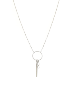 Louie - minimalista ezüst nyaklánc